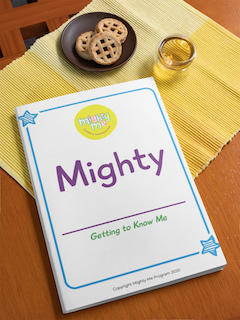 mighty me about me download confidence kit for kids by Katie Mccray